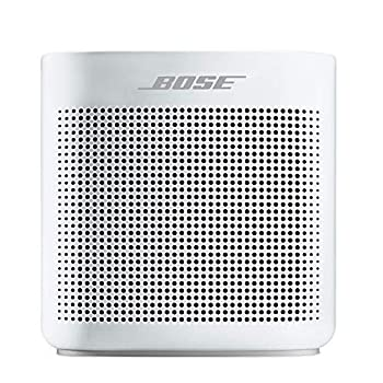 Bose SoundLink Color II  Portable Bluetooth Wireless Speaker with Microphone- Polar White