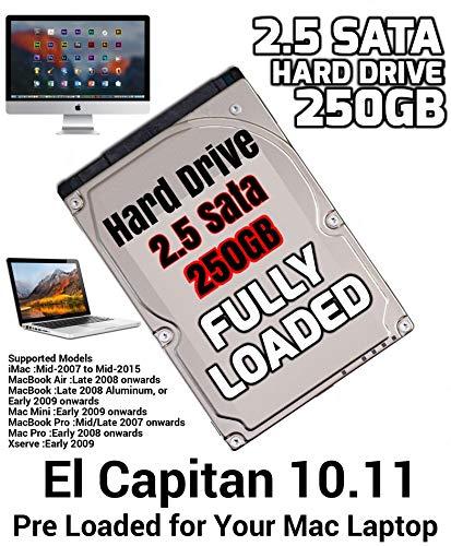 Hitachi HGST Hts545050A7E362 P/N: 0J38105 Mac 655-1730F MLC: Da5754 500 GB de Disco Duro SATA 2.5 para Macbook Pro 2012 y anteriores