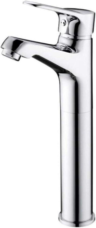 Kitchen Bath Basin Sink Bathroom Taps Kitchen Sink Taps Bathroom Taps Hot and Cold Single-Hole Faucet Ctzl7043