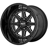 Moto Metal MO801 Phantom 20x12 8x6.5' -44mm Black/Milled Wheel Rim 20' Inch