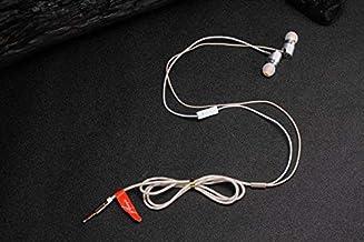 Acid Eye 3.5 MM Jack in Ear Earphones for Mobile Stereo Sound Earphones(Gold)