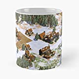 5TheWay Vintage Nerd Hipster Christmas Empires Computer Gaming 90S of Age - Best 11 oz Kaffeebecher...