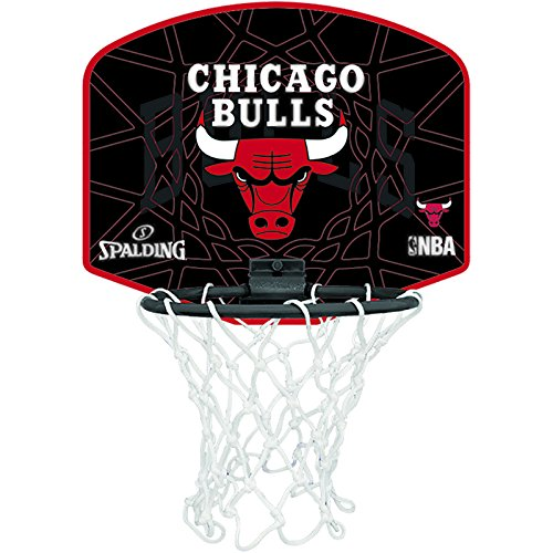 Spalding Mini Board Chicago Bulls, Multicolore, Taglia Unica, 3001588011317