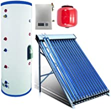 Duda Solar 100 Liter Water Heater Active Split System Single Coil Tank Evacuated Vacuum Tubes Hot SRCC Certified