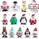 ThinkMax Aufziehspielzeug, 24 Stück Wind Up Toys Sortimentfür Kinder Party Gefälligkeiten,...