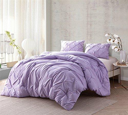 BYB Orchid Petal Pin Tuck Queen Comforter