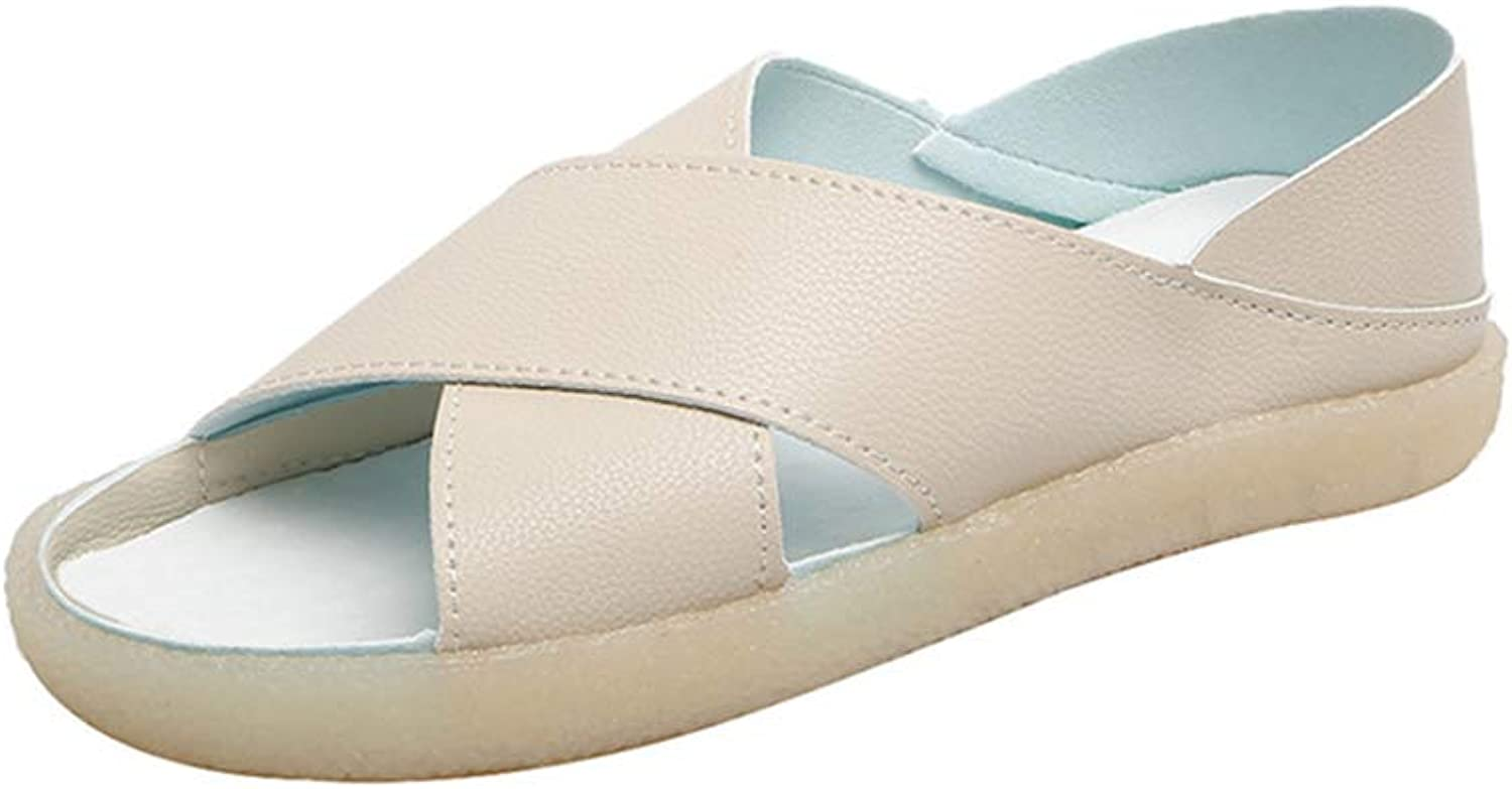 SRF6 Women's Sandals Flat with Roman Sandals Flats with Sandals for Women(,0,0)