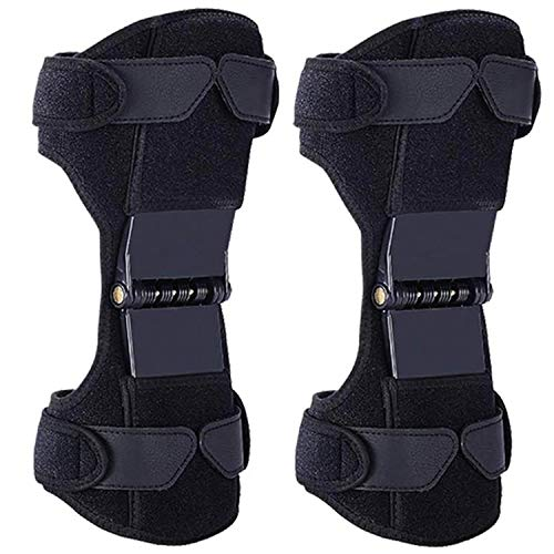 Power Knee Braces Joint Support, 2 Packs Power Knee Stabilizer Pads, 2020 Updated Protective Gear...