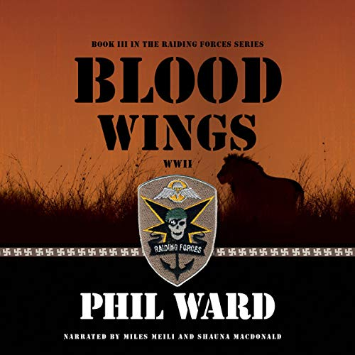 Blood Wings audiobook cover art