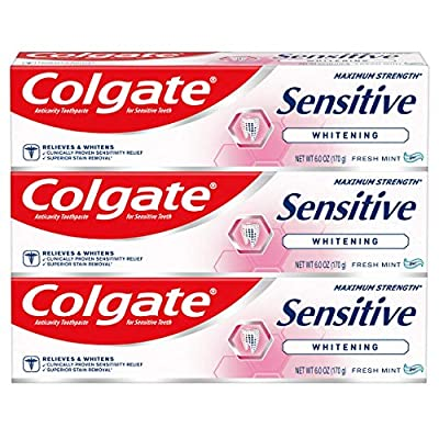 Colgate Sensitive Whitening Toothpaste