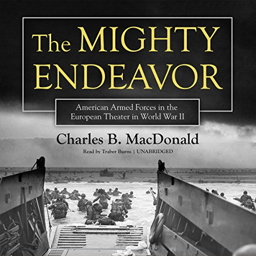 The Mighty Endeavor audiobook cover art