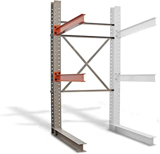Cantilever Rack Add-On Kit - Single Sided - 12'H x 8