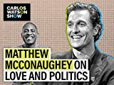 Hollywood Legend Matthew McConaughey Reflects on Political Future and Writing 'Greenlights'
