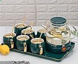 Artesanía china, Tés fragantes y juegos de té, sopa caliente, teteras de cerámica, mejores amigos, tribus, familias,