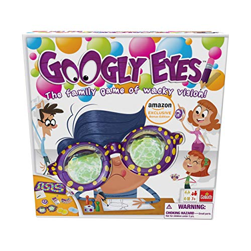 Unique gameplay players put on the vision distorting glasses and try to draw a challenge for their team to guess before time runs out Family fun Great for people of all ages to play together - the goggles make it challenging for everyone to see (and ...