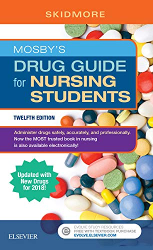 517jg tX4QL - Mosby's Drug Guide for Nursing Students, with 2020 Update - E-Book