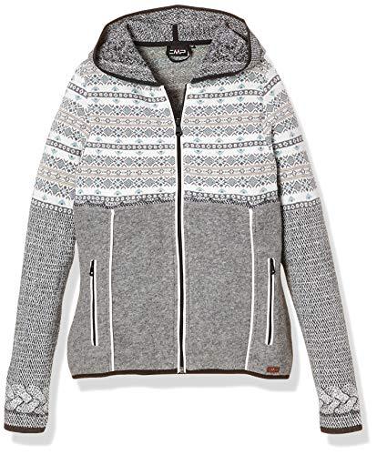 CMP Artic Fleece 39j3326 - Chaqueta para mujer, Mujer, Chaqueta, 39J3336, Grey M., 42