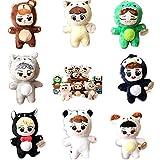 VogueMing 15 cm/6'' Kpop EXO Animal Plush Doll Toy Sehun Kai Chen Baekhyun Chanyeol Xiumin D.O. Lay Suho Doll 【in Stock】 (Suho)