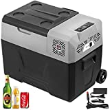 VBENLEM 40L Portable Car Refrigerator 42 Quart Vehicle Car Truck Boat...