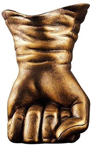 YANRUI Estatua Adornos esculturas Mano Modelo Vino Estatua Vendimia Estatua Vino Titular de Vino Resina figurilla Arte decoración del hogar (Size : 13 * 17CM)