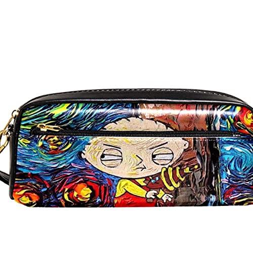 Crayon Case,Grande Capacité Crayons Trousse,Fermeture Eclair crayons sac,Trousse à Crayons,Poche Crayon Case,Trousse Petit garçon sciant un arbre