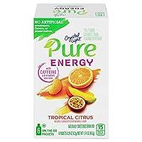 Crystal Light Pure Tropica Citrus Energy Mix 50g(6杯分) x3個 クリスタルライトピュアトロピカシトラスエナジーミックス [並行輸入品]