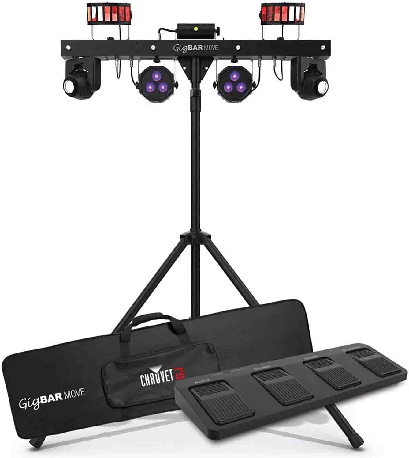 Limited Special Price Spasm price CHAUVET DJ Gig Bar Move 5-in-1 with Lighting Moving 2 System LED