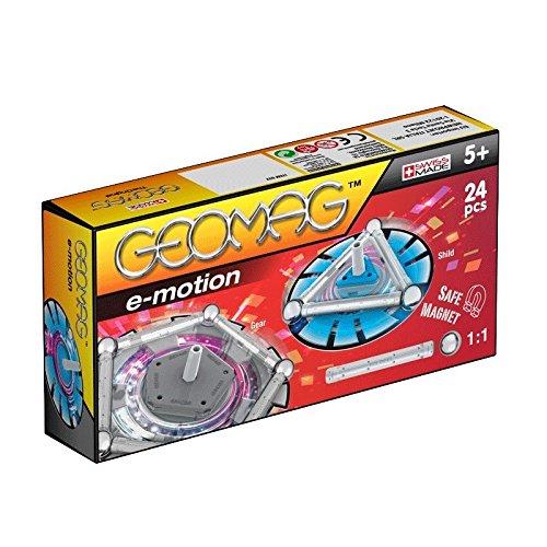 Geomag- Spin Juego de construcción, Multicolor, 24 Piezas (GEO032) , color/modelo surtido