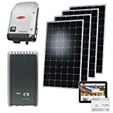Buderus PV-Anlage PV20 8,68 KWp monokristallin Photovoltaik Solarmodul PV-Modul Solaranlage