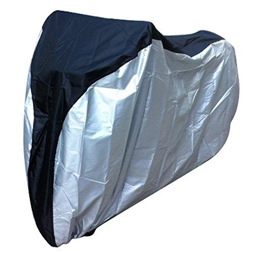 tininna Schutzhülle für Fahrrad Schutz Scooter Abdeckplane Regenschutz für Fahrrad-Bike Rain Cover Decken Wasserdicht Gr. S, weiß