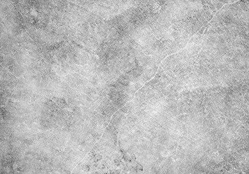 wandmotiv24 Fototapete Beton-optik grau - Grunge M 250 x 175 cm - 5 Teile Fototapeten, Wandbild, Motivtapeten, Vlies-Tapeten Wand, Schwarz-weiss M0942