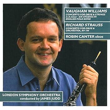 Vaughan Williams: Oboe Concerto - Strauss: Oboe Concerto