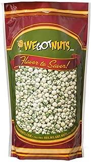green snack pistachio wasabi