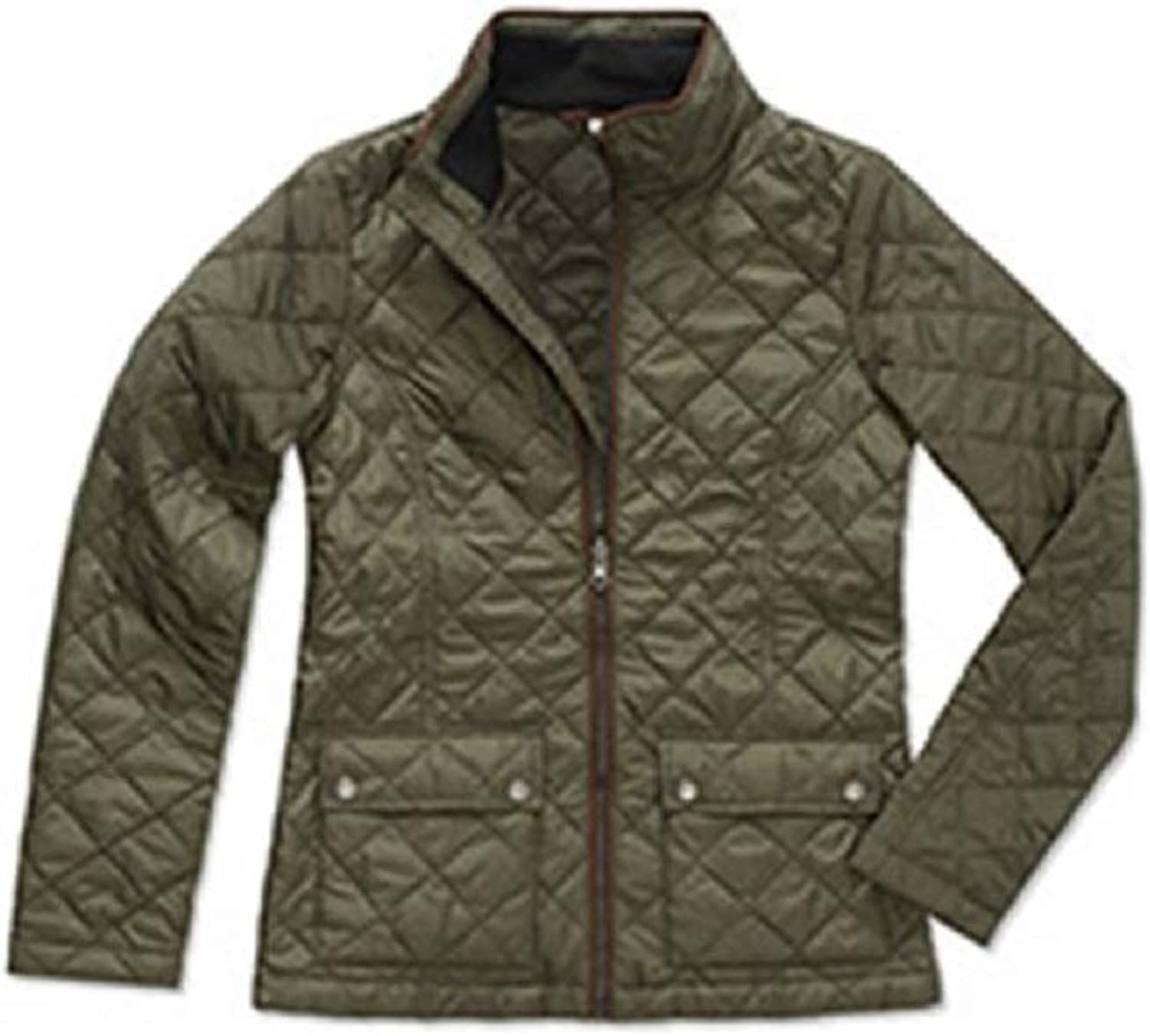 Stedman Womens Ladies Active Quilted Jacket
