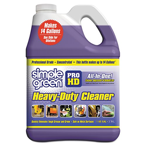 Simple Green - SMP13421CT 13421 Pro HD Heavy-Duty Cleaner, Unscented, 1 gal Bottle (Case of 4)
