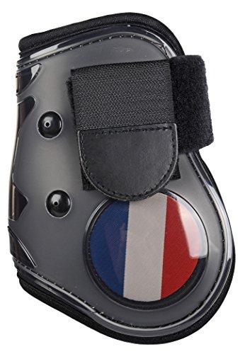 HKM flapdoppen vlag voor het achterbeen, Vollblut/Warmblut, Flag France