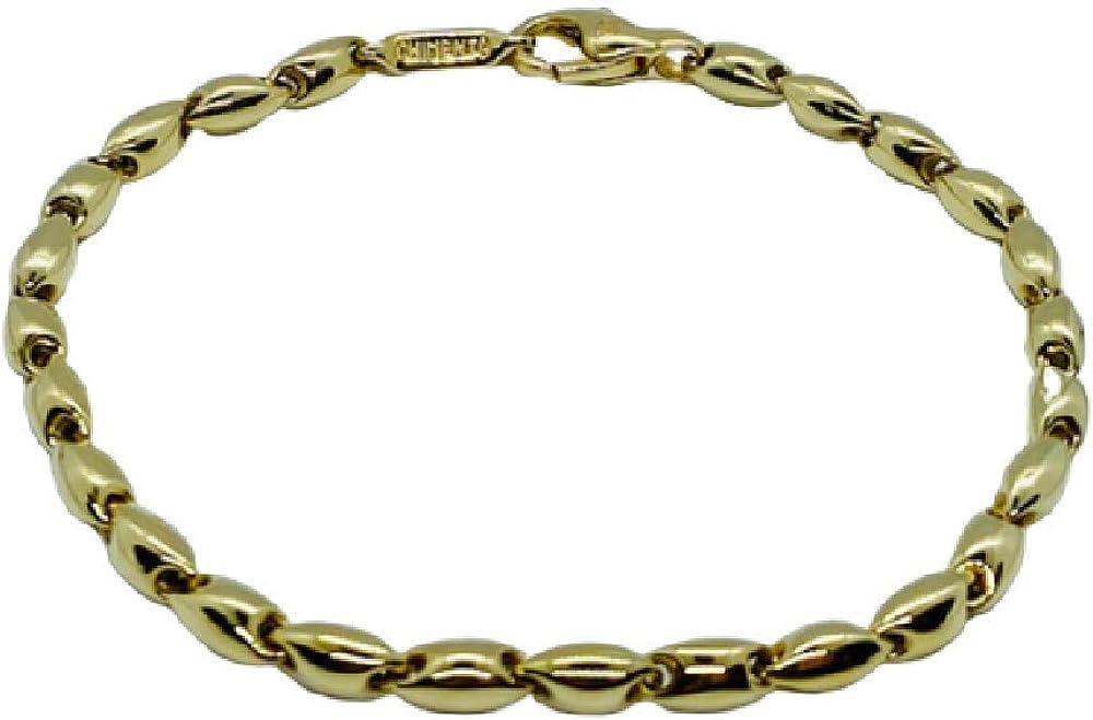 Chimento ,bracciale unisex ,in oro giallo 18 kt(6,3 gr) 1B00433ZZ1190
