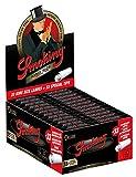 Smoking Deluxe - Papel de liar (24 x 33 hojas, 24 x 33 filtros, tamaño grande, fino, en caja y en caja