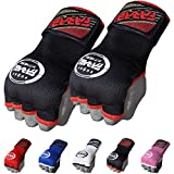 FARABI Kids Hybrid Boxing Inner Gloves Punching Boxing Gloves (Black)