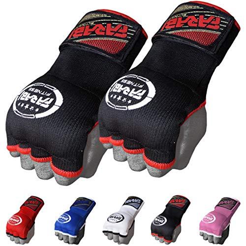 FARABI Kids Hybrid Boxing Inner Gloves Punching Boxing Gloves (Black)