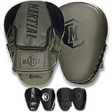 Martial Manoplas de Boxeo y Artes Marciales con Acolchado de Ideal para...