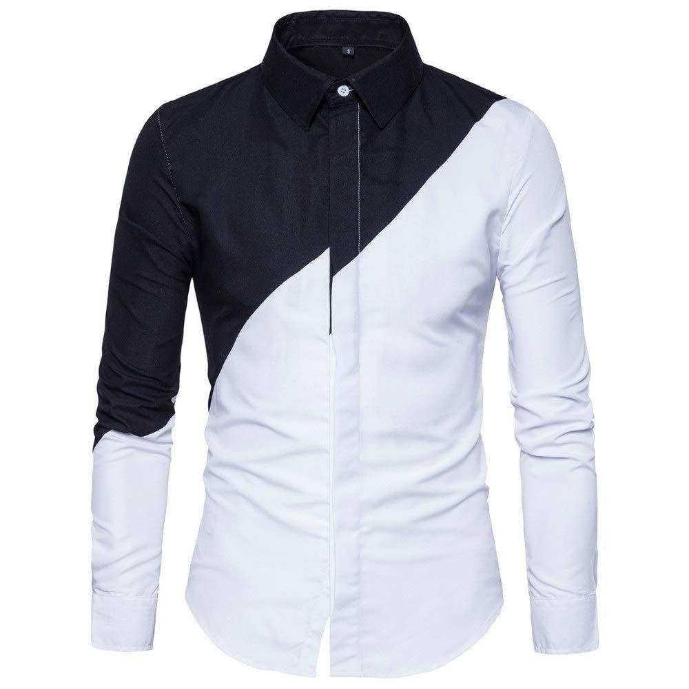 Camisa de vestir para hombre Camisa informal Estilo de la moda Camisa de algodón for hombre