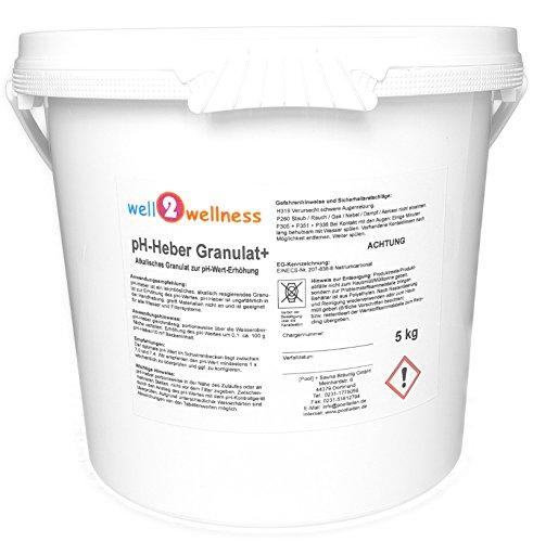 well2wellness pH-Heber Granulat+ 5,0 kg
