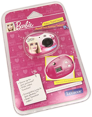 Lexibook DJ015BB - Barbie Digitalkamera, 300K Pixel