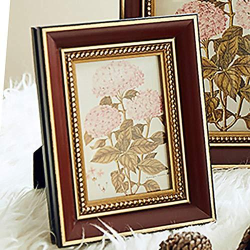 Bilderrahmen Holzrahmen Im Klassischen Stil Für Tisch-Foto-Display Im Zimmer, Erinnerungs-Bilderrahmen Für Hochzeitsdekoration, Wanddekoration Photosi
