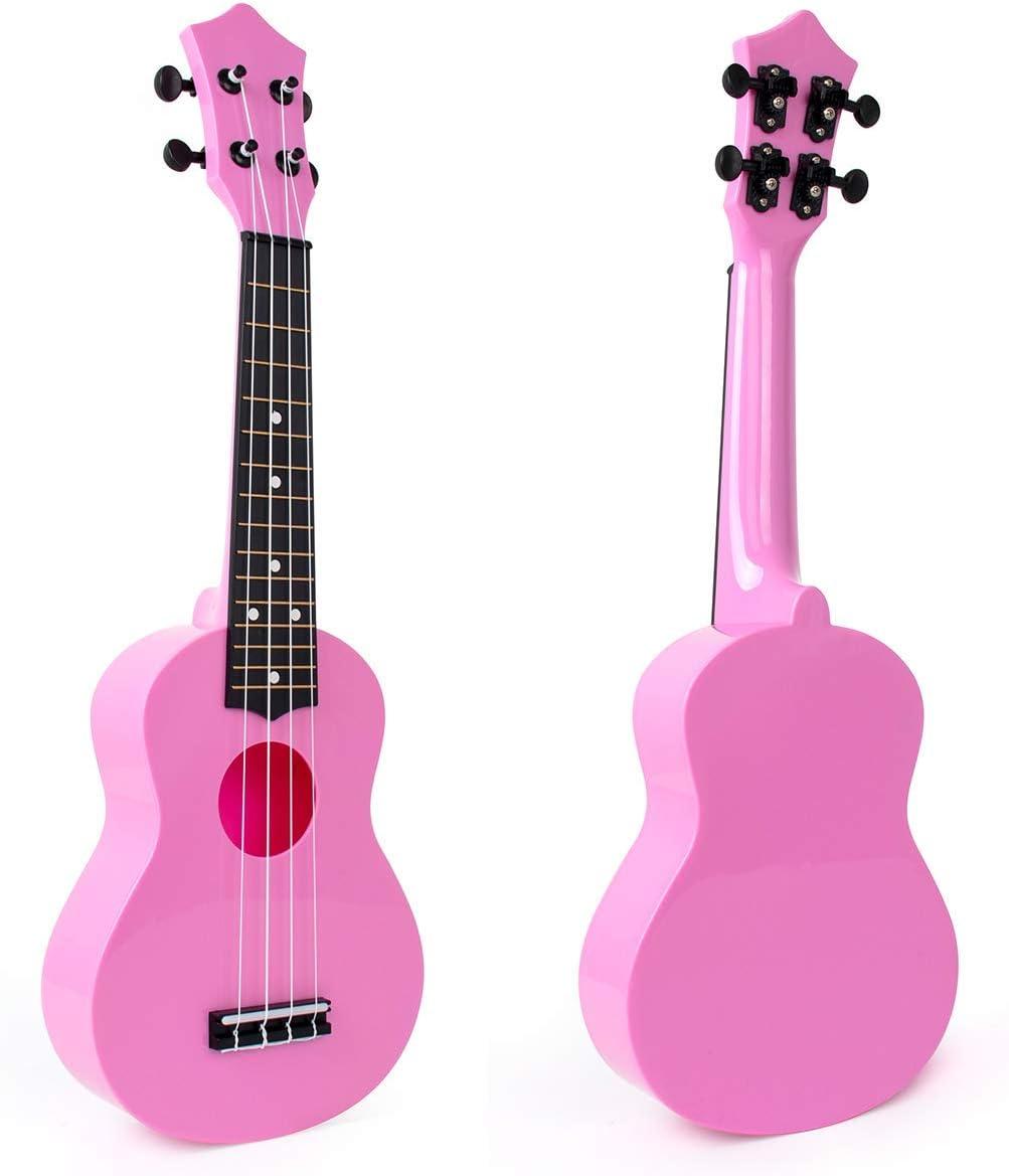 Soprano 40% OFF Cheap Sale Ukulele for Beginners New sales Kids ukelele inch ukulele 21 Pink