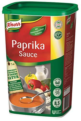 Knorr Paprika Sauce (pikant- fruchtiger Paprikageschmack) 1er Pack (1 x 1 kg)
