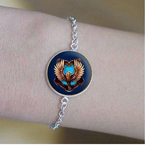 Nijiahx Handgefertigte Hogwarts Gryffindor Slytherin Ravenclaw Hufflepuff Cameo Armbänder Draco Malfoy Voldemort Snape