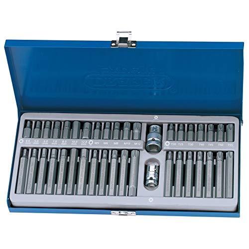 40PC juego de puntas Torx Hex Spline puntas para mecánica de puntas XZN (Draper 33322se 21932