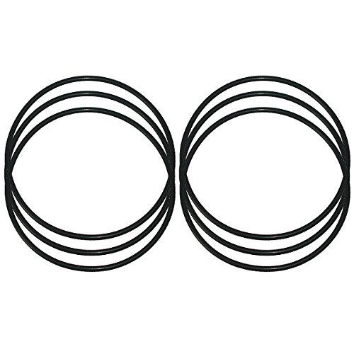 KleenWater Replacement O-Rings for Water Filter Models WS03X10039, 151122,GXWH30C, GXWH35F, GXWH40L, WHKF-DWHBB, WHKF-C9, WSO3X10039, AO-WH-LG-OR and Culligan HD-950A, Multi Pack of 6
